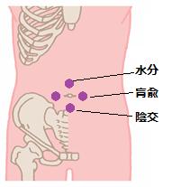 腸炎ツボ1