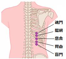 胆石症ツボ1