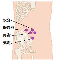 腎炎ツボ2