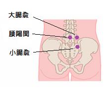 坐骨神経痛ツボ1